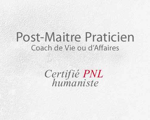 Formation post-maître PNL humaniste